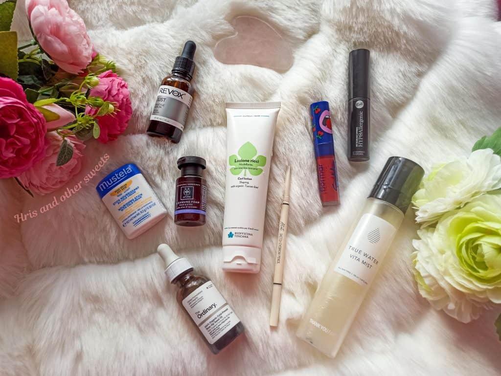 Любими козметични продукти декември 2020