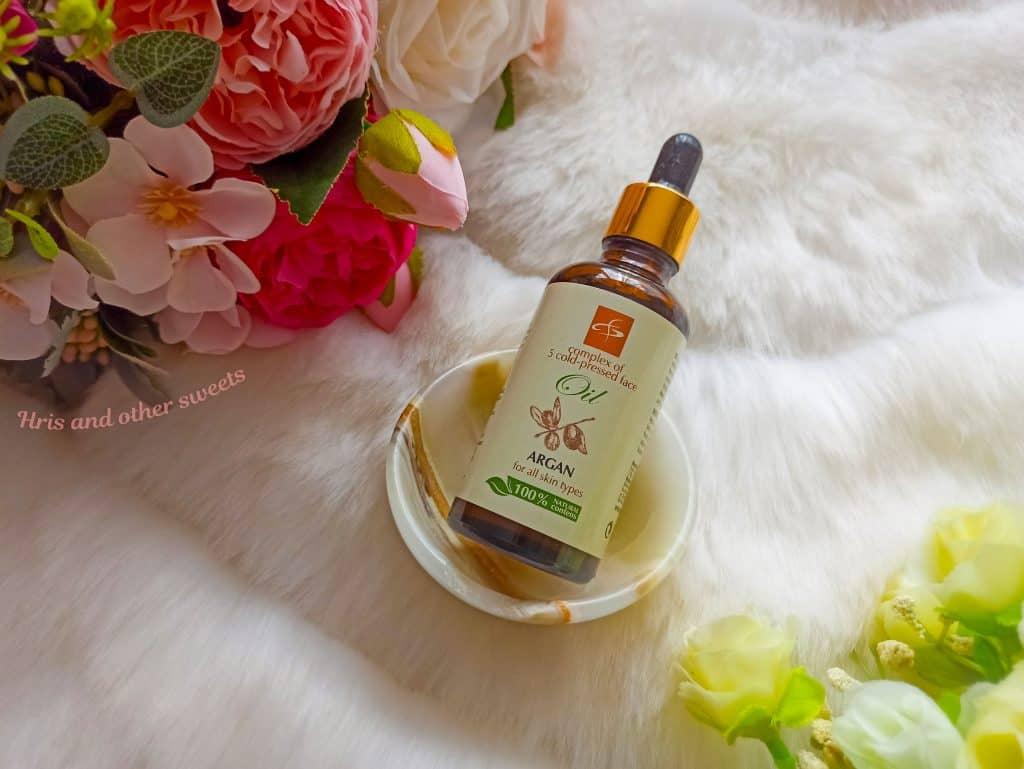 Фионна Козметикс олио за лице арган 1