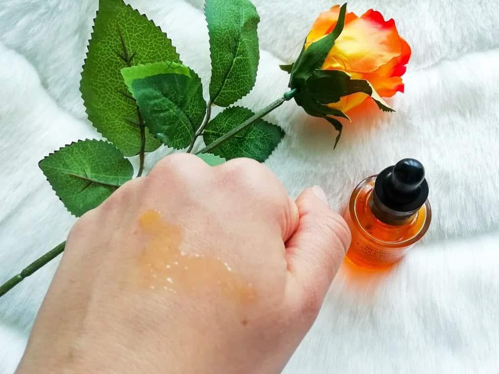 олио за лице с морков